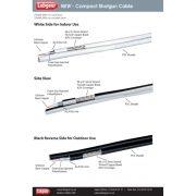 Compact Indoor / Outdoor Shotgun coax cable - 250m
