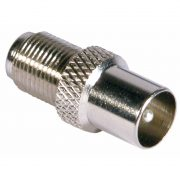 39772 F Socket To Coax Plug (Pack 10)