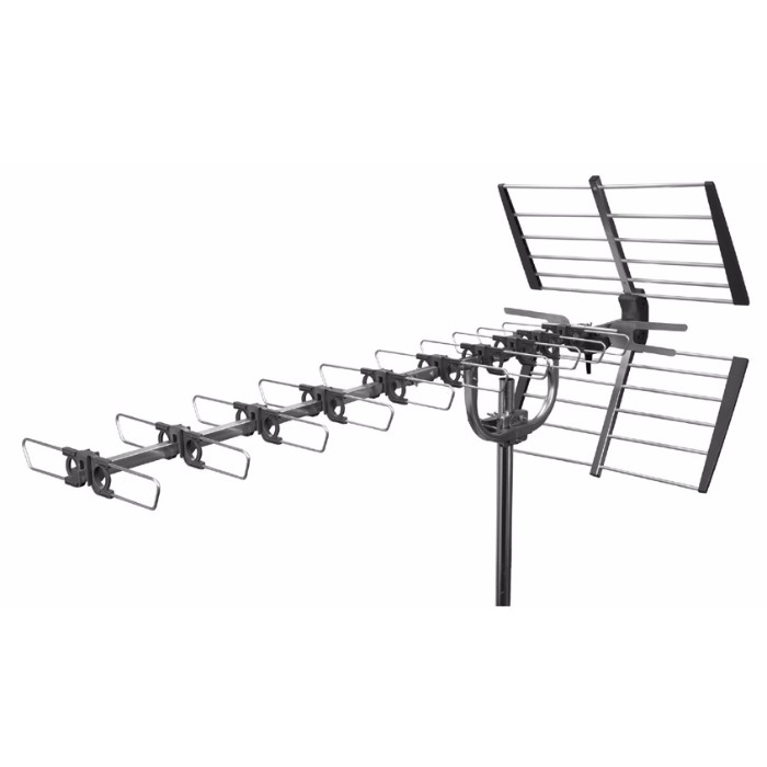 labgear 10 bay professional high gain tv aerial