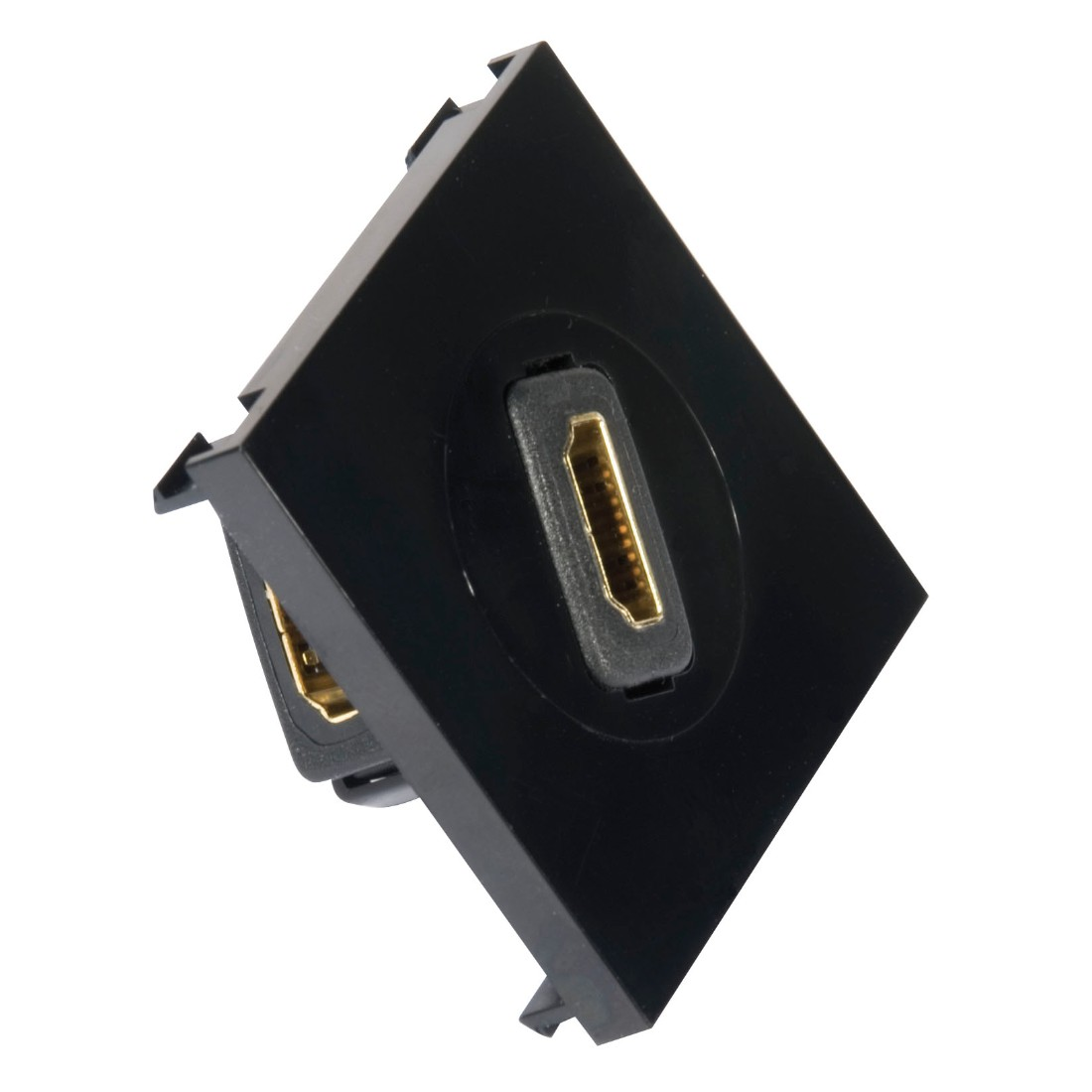 Hdmi Rotating Modular Plate Black Labgear